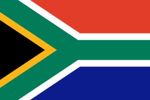 Landesflagge von Südafrika