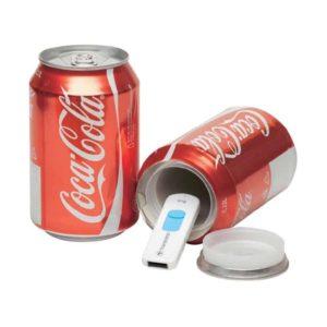 Getränkedose als Geldversteck