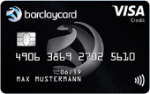 Kreditkarte Barclaycard VISA